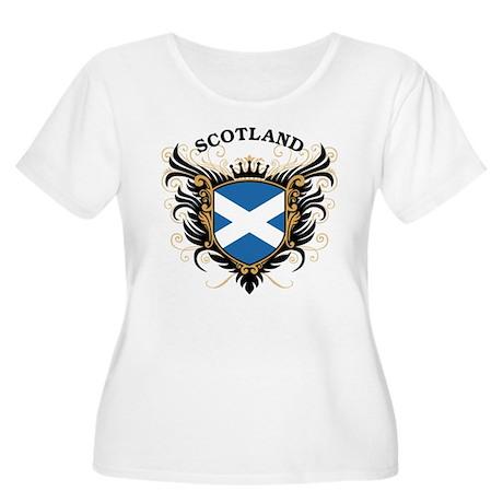 Scotland Women's Plus Size Scoop Neck T-Shirt