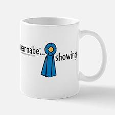wannabe...showing Mug