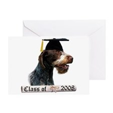 Wirehaired Grad 08 Greeting Card