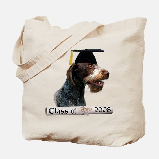 Wirehaired Grad 08 Tote Bag