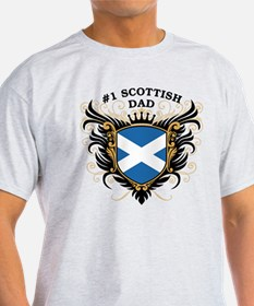 Number One Scottish Dad T-Shirt