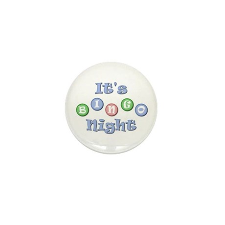 It's Bingo Night Mini Button