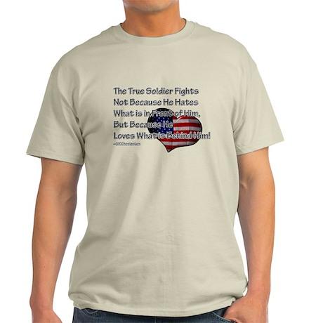 The True Soldier Light T-Shirt