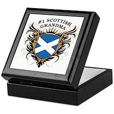 Number One Scottish Grandma Keepsake Box