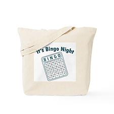 It's Bingo Night Tote Bag