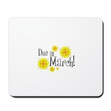 Due in March Mousepad