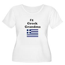 #1 Greek Grandma T-Shirt
