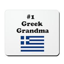 #1 Greek Grandma Mousepad