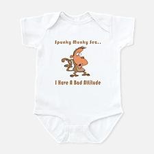 I Have A Bad Attitude Infant Bodysuit