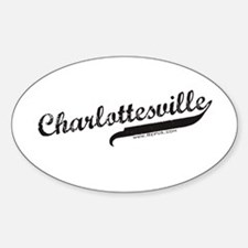 Charlottesville Oval Decal