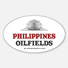 Philippines Oilfields Oval Decal