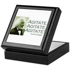 "Frederick Douglass ""Agitate!"" Keepsake Box"