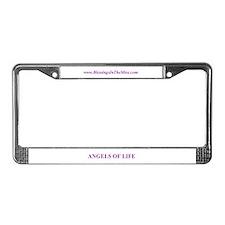 Unique Jan License Plate Frame