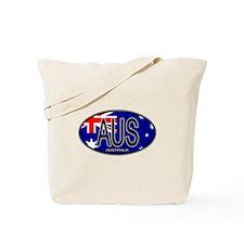 Australia Oval Colors Tote Bag