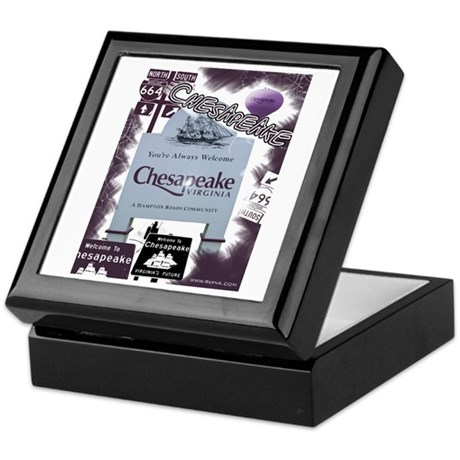 Chesapeake 2 Keepsake Box
