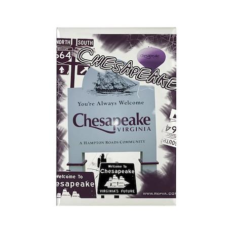 Chesapeake 2 Rectangle Magnet (100 pack)