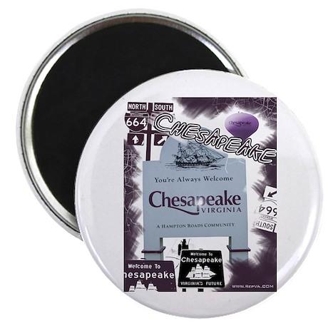 "Chesapeake 2 2.25"" Magnet (10 pack)"