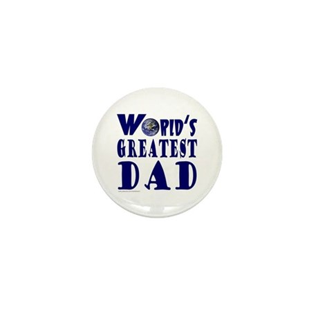 WORLD'S GREATEST DAD Mini Button (10 pack)