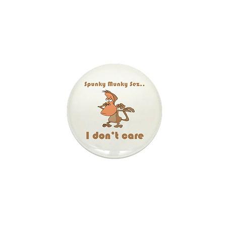 I Don't Care Mini Button (10 pack)