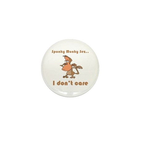 I Don't Care Mini Button (100 pack)