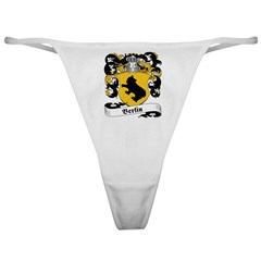 Berlin Family Crest Classic Thong