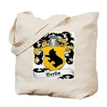 Berlin Family Crest Tote Bag