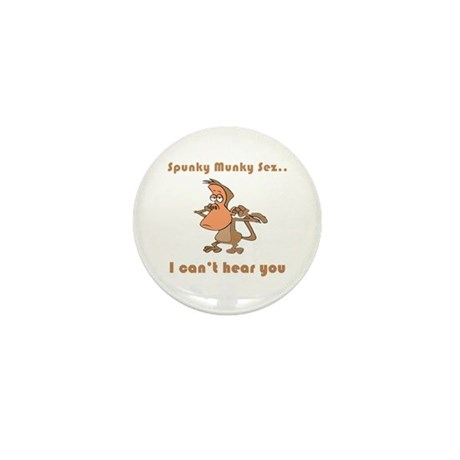 I Can't Hear You Mini Button (100 pack)