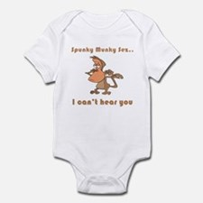 I Can't Hear You Infant Bodysuit