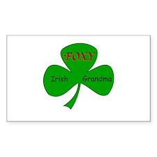 Foxy Irish Grandma Decal