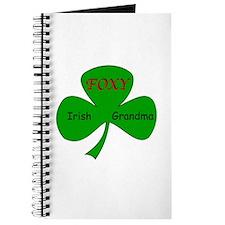 Foxy Irish Grandma Journal