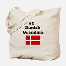 #1 Danish Grandma Tote Bag
