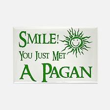 Pagan Smile Rectangle Magnet