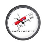 French Army Knife Wall Clock