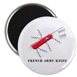 "French Army Knife 2.25"" Magnet (10 pack)"