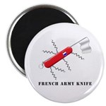 French Army Knife Magnet