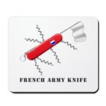French Army Knife Mousepad
