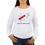 French Army Knife Women's Long Sleeve T-Shirt