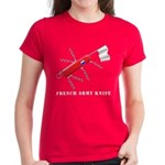 French Army Knife Women's Dark T-Shirt