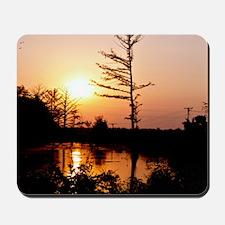 Delta Solemn Sunset Mousepad