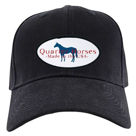 Quarter Horse Black Cap