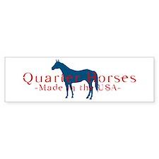 Quarter Horse Bumper Bumper Sticker