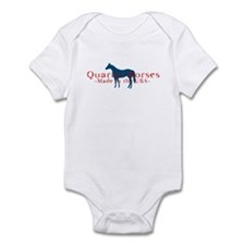 Quarter Horse Infant Bodysuit