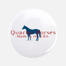 "Quarter Horse 3.5"" Button"