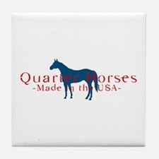 Quarter Horse Tile Coaster
