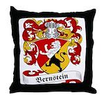 Bernstein Family Crest Throw Pillow