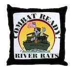 TF116 River Rats Throw Pillow