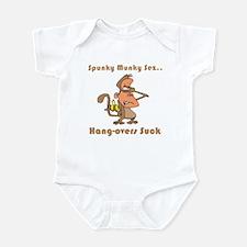 Hang-overs Suck Infant Bodysuit