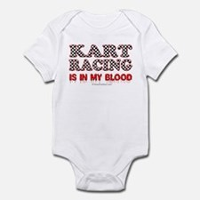 Kart Racing Blood Infant Bodysuit