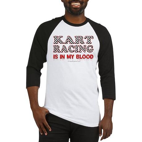 Kart Racing Blood Baseball Jersey