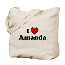 I Heart Amanda Tote Bag